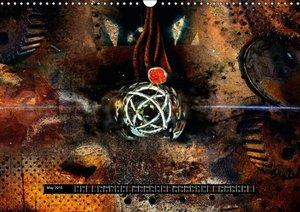 metal space (Wall Calendar 2015 DIN A3 Landscape)