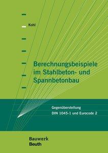 Berechnungsbeispiele im Stahlbeton- und Spannbetonbau