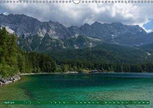 Vonzin, A: Rund um die Zugspitze (Wandkalender 2015 DIN A3 q
