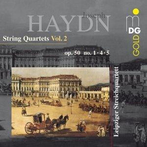 Vol. 2 Streichquartette op.50 1,4+5
