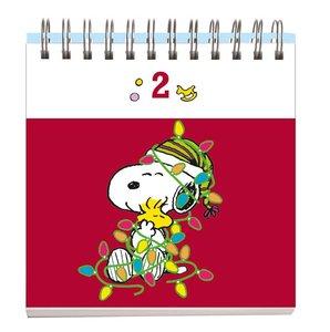 Peanuts Adventsaufsteller Geschenkbuch