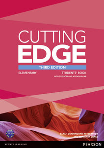 Cutting Edge Elementary Students' Book with DVD and MyEnglishLab