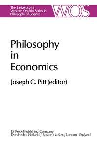 Philosophy in Economics