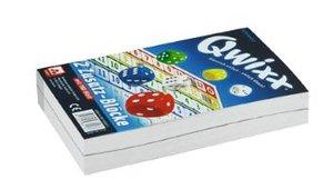 Nürnberger Spielkarten 4016 - Qwixx Ersatz Blöcke, 2 Stück