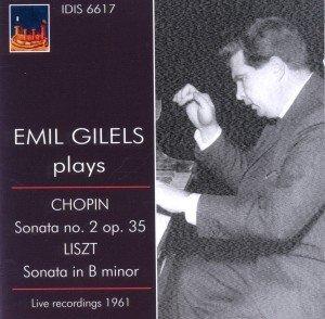 Emil Gilels spielt