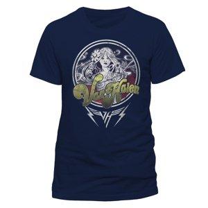 Woman (T-Shirt,Dunkelblau,Größe M)