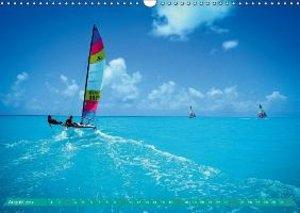 Durch die Karibik auf dem Katamaran (Wandkalender 2014 DIN A3 qu