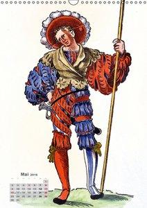 Landsknechte und Soldaten: Historische Uniformen (Wandkalender 2