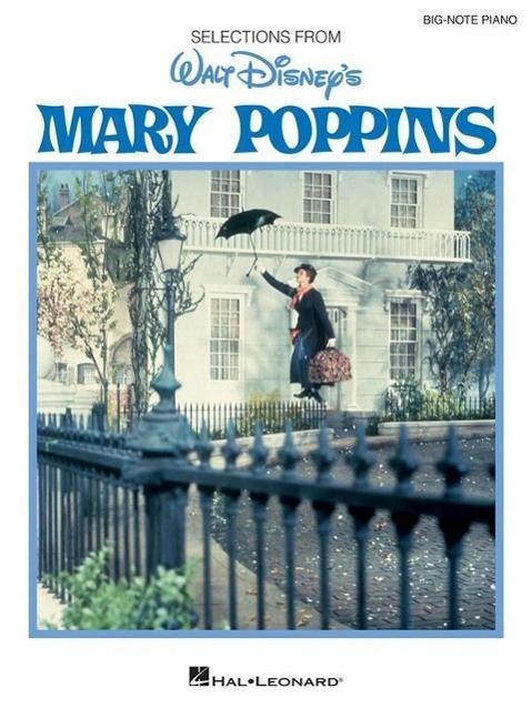 Big Note Vocal Selections: Mary Poppins - zum Schließen ins Bild klicken