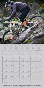 Downhill in the Alps (Wall Calendar 2015 300 × 300 mm Square)
