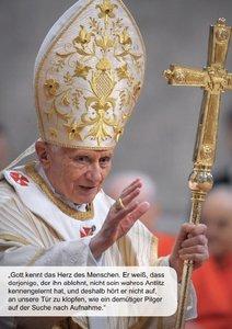 CALVENDO: Erinnerungen an Papst Benedikt XVI. (Posterbuch DI