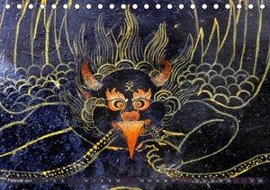 Fabelhafte Wesen Tibets 2017 (Tischkalender 2017 DIN A5 quer)