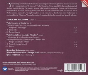 Violinkonzert,Kreutzersonate-New Remastering