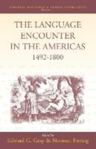 The Language Encounter in the Americas, 1492-1800