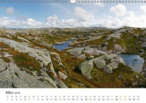Norwegische Impressionen (Wandkalender 2016 DIN A3 quer)