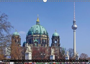 BERLIN - Highlights (CH - Version) (Wandkalender 2016 DIN A3 que