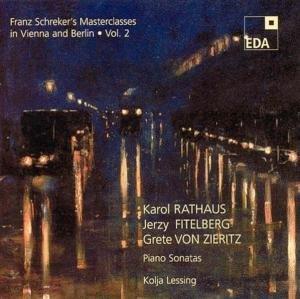 Franz Schreker's Masterclasses in Vienna/Berlin 2