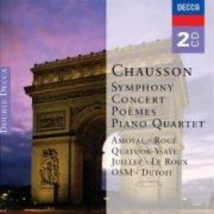 Sinfonie In B/Klavierquartet/Poemes/Concert