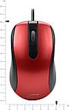 Speedlink MICU Mouse, 3-Tasten-Maus - USB, rot - zum Schließen ins Bild klicken