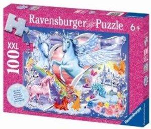Ravensburger 13928 - Die schönsten Einhörner, 100 Teile XXL Glit