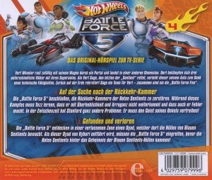 Hot Wheels/Battle Force 5: (4)HSP z TV-Serie