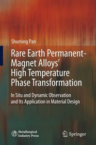 Rare Earth Permanent-Magnet Alloys' High Temperature Phase Trans
