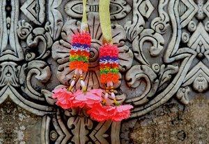Premium Textil-Leinwand 45 cm x 30 cm quer Thailand, Tempelschmu