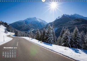Landstraßen Europas - Abgefahren (Wandkalender 2016 DIN A3 quer)