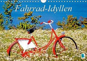 Fahrrad-Idyllen (Wandkalender 2016 DIN A4 quer)