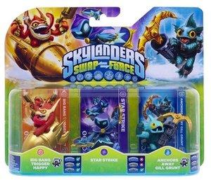 Skylanders Swap Force: Triple Pack C (STAR STRIKE, GILL GRUNT, T