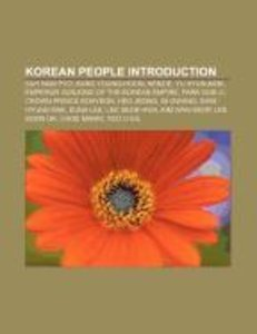 Korean people Introduction