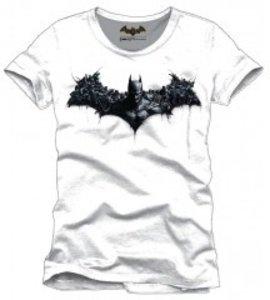 Batman Arkham Origins - Army Logo - T-Shirt - Weiß - Größe XL
