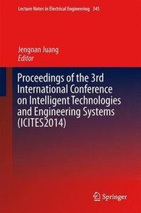 Proceedings of the 3rd International Conference on Intelligent T
