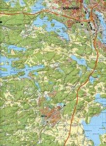 Outdoorkartan Schweden Stockho