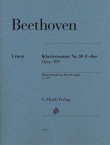 Klaviersonate Nr. 30 E-dur op. 109. Revidierte Ausgabe von HN 36