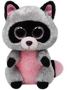 Rocco - Waschbär pink/grau, 15cm