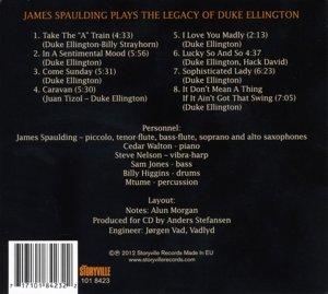 James Spaulding-Plays The Legacy Of Duke Elling