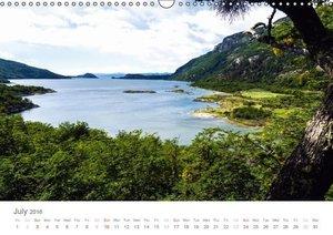 Tierra del Fuego UK-Version (Wall Calendar 2016 DIN A3 Landscape