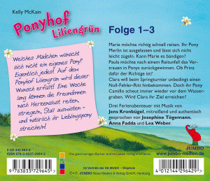 Ponyhof Liliengrün Folge 1-3