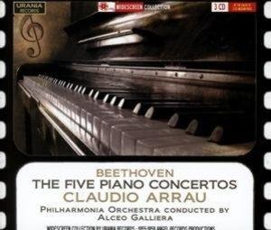 Die fünf Klavierkonzerte
