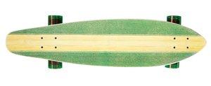 Streetsurfing 500230 - Longboard Kicktail 36, Infinity Green, 91