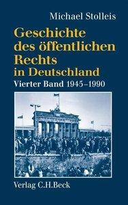 Geschichte des öffentlichen Rechts in Deutschland 4: Staats- und