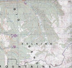 Revelstoke Park Region 82M1/N41 : 50 000