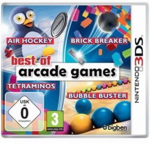 Best of Arcade Games (Brick Breaker / Bubble Buster / Air Hockey