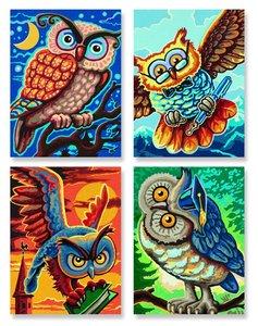 Schipper Malen nach Zahlen - Vogel der Weisheit
