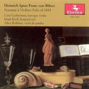 Sonaten Für Violine solo (1681)