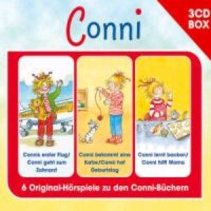 CONNI - 3-CD HÖRSPIELBOX VOL. 4