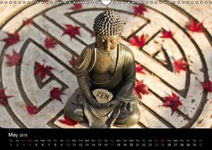 SPIRIT OF ZEN Happiness (Wall Calendar 2015 DIN A3 Landscape)