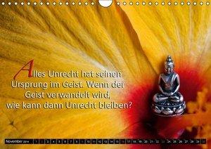 Buddhistische Weisheiten (Wandkalender 2014 DIN A4 quer)