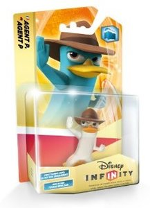 Disney INFINITY - Figur Single Pack - Crystal Agent P (streng li